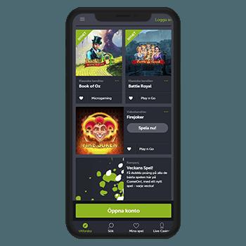 Kul att spela kasino online på mobil